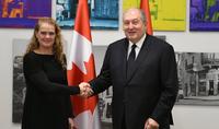 Երախտագիտություն եմ հայտնում Կանադայի կառավարությանը Թուրքիային ռազմական սարքավորումներ տրամադրելու արտոնագրից զրկելու որոշման համար. նախագահի ուղերձը Կանադայի գեներալ-նահանգապետին