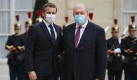 Հայաստանի և Ֆրանսիայի նախագահները մտահոգություն են հայտնել արցախյան հակամարտության շուրջ ստեղծված իրավիճակի կապակցությամբ. Ելիսեյան պալատում տեղի է ունեցել Արմեն Սարգսյանի և Էմանուել Մակրոնի հանդիպումը