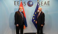 Թուրքիայի ներկայությունը լուրջ սպառնալիք է տարածաշրջանային և միջազգային անվտանգության համար․ նախագահ Սարգսյանը հանդիպել է ԵՄ արտաքին գործերի և անվտանգության քաղաքականության հարցերով բարձր ներկայացուցիչ Բորելի հետ