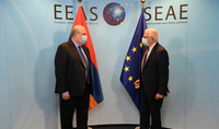 Turkey's presence is a serious threat to the regional and international security: President Sarkissian met with the High Representative of the European Union for Foreign Affairs and Security Josep Borrell