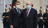 Terrorism, fundamentalism, and fanaticism recognize no borders and pose serious threat to our societies: President Armen Sarkissian sent a letter of condolences to Emmanuel Macron
