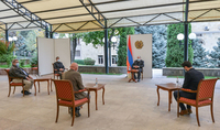 President Armen Sarkissian received a member of the House of Representatives of the Belgian Parliament George Dalman