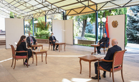 President Armen Sarkissian received Anouch Toranian, the Deputy Mayor of Paris