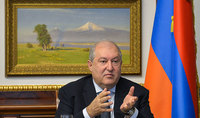 There is only one way - negotiations, everything else leads to a deadlock, a historical deadlock: an еxclusive interview of President Armen Sarkissian with the RBC TV Company