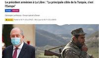 Ոչ ոք պատրանք չպետք է ունենա, որ որեւէ հարց կարող է լուծվել ուժի միջոցով. նախագահ Արմեն Սարգսյանի հարցազրույցը La Libre Belgique-ին