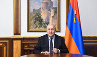 We have the most powerful weapon: ourselves and our unity. Address by Armen Sarkissian, President of the Republic of Armenia, Chairman of the Board of Trustees of the Hayastan All-Armenian Fund