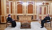 Президент Армен Саркисян встретился с Католикосом всех армян Гарегином II