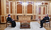 President Armen Sargsyan met with His Holiness Karekin II, Supreme Patriarch and Catholicos of All Armenians