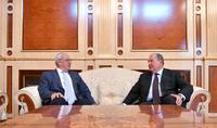 President Armen Sarkissian had a telephone conversation with Perch Sedrakyan, the AGBU President