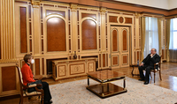 Президент Армен Саркисян принял посла Болгарии в Армении