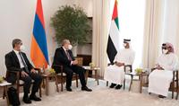 Президент Армен Саркисян в Абу-Даби встретился с наследным принцем Абу-Даби, заместителем Верховного главнокомандующего Вооружёнными силами ОАЭ, шейхом Мохаммедом бин Зайдом Аль Нахайяном