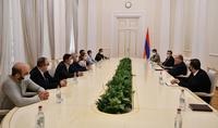 Президент Армен Саркисян принял группу депутатов фракции НС «Мой шаг»