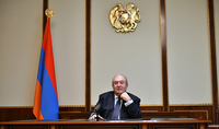 It is possible to lose the battle, but it is inadmissible to lose as a nation. Address by the President of the Republic of Armenia Armen Sarkissian