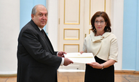 The newly-appointed Ambassador of Canada to Armenia presented her credentials to President Armen Sarkissian