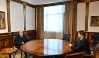President Armen Sarkissian met with the Ambassador of France to Armenia