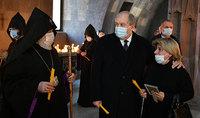 Հայրենիքի համար նահատակված հերոսների հիշատակի արարողություն՝ աշխարհի հայկական եկեղեցիներում