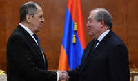 The Armenian people are thankful to Russia and the President of the Russian Federation, especially for the support shown during these difficult days. President Sarkissian met with Sergey Lavrov
