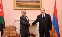 President Armen Sarkissian will pay a short working visit to the Hashemite Kingdom of Jordan