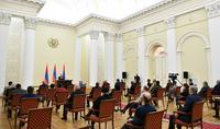 President Armen Sargkissian met with public representatives