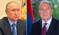 Президент Армен Саркисян направил письмо Владимиру Путину с просьбой о содействии в вопросе возвращения армянских солдат и гражданских лиц, находящихся в азербайджанском плену
