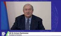 Նախագահ Արմեն Սարգսյանը Climate Ambition Summit-ում կլիմայի փոփոխության արդյունքում ֆինանսական խնդիրներ ունեցող զարգացած և զարգացող երկրներին առաջարկել է նորարարական մոտեցում` «Պարտքը` ի նպաստ կլիմայի» բանաձևով