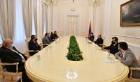 Նախագահ Արմեն Սարգսյանը շարունակում է հանդիպումները քաղաքական ուժերի հետ