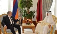 Президент Армен Саркисян поздравил Эмира Катара с Национальным праздником страны