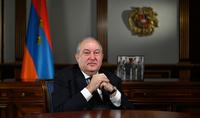Հանրապետության նախագահ Արմեն Սարգսյանի շնորհավորական ուղերձն Ամանորի առթիվ