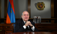 New Year Congratulatory Message of the President of the Republic Armen Sarkissian