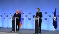 Президента Армена Саркисяна с праздниками Нового года и Святого Рождества поздравил Генеральный секретарь НАТО