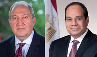 President of Egypt Abdel Fattah al-Sisi sent a congratulatory message to President Armen Sarkissian on the occasion of the New Year and Christmas