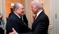 Ожидаю, что наше сотрудничество продвинет дружественные армяно-американские отношения – Президент Армен Саркисян поздравил Президента США Джо Байдена