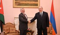 Le président Armen Sarkissian a envoyé un message de félicitations au roi Abdullah II de Jordanie à l'occasion de son anniversaire