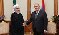 Տարածաշրջանում ստեղծված բարդ իրավիճակի պայմաններում առավել քան երբևէ կարևոր են դարձել Հայաստանի և Իրանի միջև հարաբերությունները. նախագահ Սարգսյանը շնորհավորել է Իրանի նախագահին և հոգևոր առաջնորդին` Իսլամական հեղափոխության հաղթանակի 42-րդ տարեդարձի առթիվ