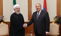 La situation compliquée de la région a rendu les relations entre l'Arménie et l'Iran plus importantes que jamais : le président Sarkissian a félicité le Guide suprême et le Président de l'Iran à l'occasion du 42e anniversaire de la victoire de la révolution iranienne