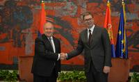 Президент Армен Саркисян поздравил Президента Сербии с Днём Государственности