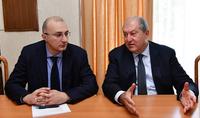 Նախագահ Արմեն Սարգսյանը նախատեսում է առաջիկայում հրավիրել «Հայաստան» համահայկական հիմնադրամի հոգաբարձուների խորհրդի արտահերթ նիստ
