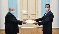 L'Arménie et l'Argentine ont des relations traditionnellement chaleureuses et amicales, le nouvel ambassadeur d'Argentine a présenté ses lettres de créance au Président Armen Sarkissian