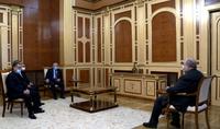 President Armen Sarkissian met with Vazgen Manukyan, Arthur Vanetsyan, Vahram Baghdasaryan, and Artsvik Minasyan