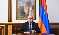 Le message du Président Armen Sarkissian à l'occasion du 33ème commémoratif de la tragédie de Soumgaït