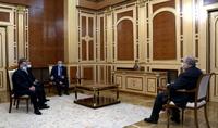 Президент Армен Саркисян встретился с руководителями Движения спасения Отечества