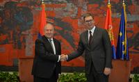 Президент Армен Саркисян направил поздравительное послание Президенту Сербии Александру Вучичу по случаю дня рождения