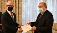Le nouvel ambassadeur du Royaume du Danemark en Arménie a présenté ses lettres de créance au Président Armen Sarkissian