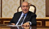 Aujourd'hui, le Président de la République Armen Sarkissian a été examiné au centre médical Astghik