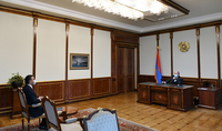 The President of the Republic and the Human Rights Defender discussed the concept of creating a security zone in Syunik