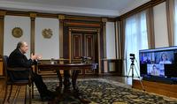 Խելացի, առաջադեմ լինելը հաջողության հիմնական բանալին է և՛ փոքր, և՛ մեծ երկրների համար. նախագահ Արմեն Սարգսյանը ելույթ է ունեցել «Հորասիս» միջազգային հեղինակավոր կենտրոնի արտահերթ հանդիպմանը