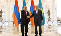 Նախագահ Արմեն Սարգսյանը Նովրուզի առթիվ շնորհավորել է Ղազախստանի նախագահին