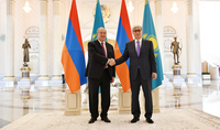 President Armen Sarkissian congratulated the President of Kazakhstan on the occasion of Nauryz