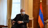 Президент Армен Саркисян принял представителей партии «Справедливая Армения»
