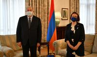 Le nouvel ambassadeur de Finlande en Arménie a présenté ses lettres de créance au Président Armen Sarkissian